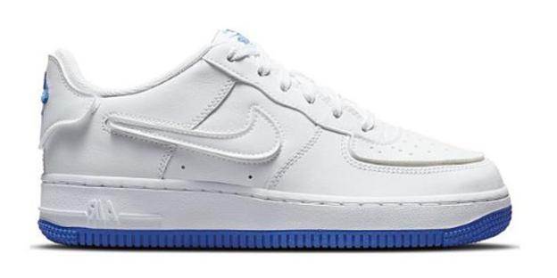 Air Force 1/1 GS 'White Royal Blue'